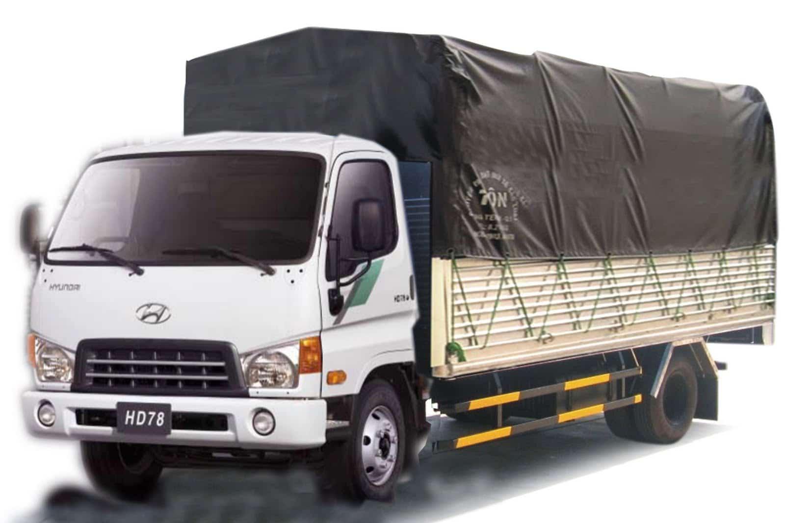Mức giá thuê xe tải chở hàng