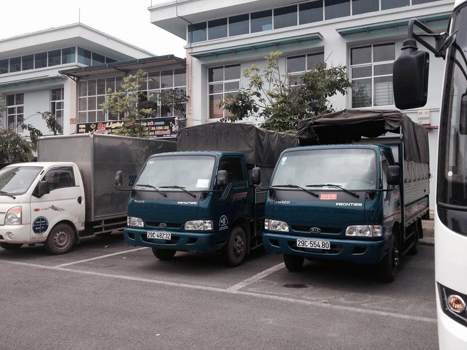 Thuê xe vận chuyển hàng hóa