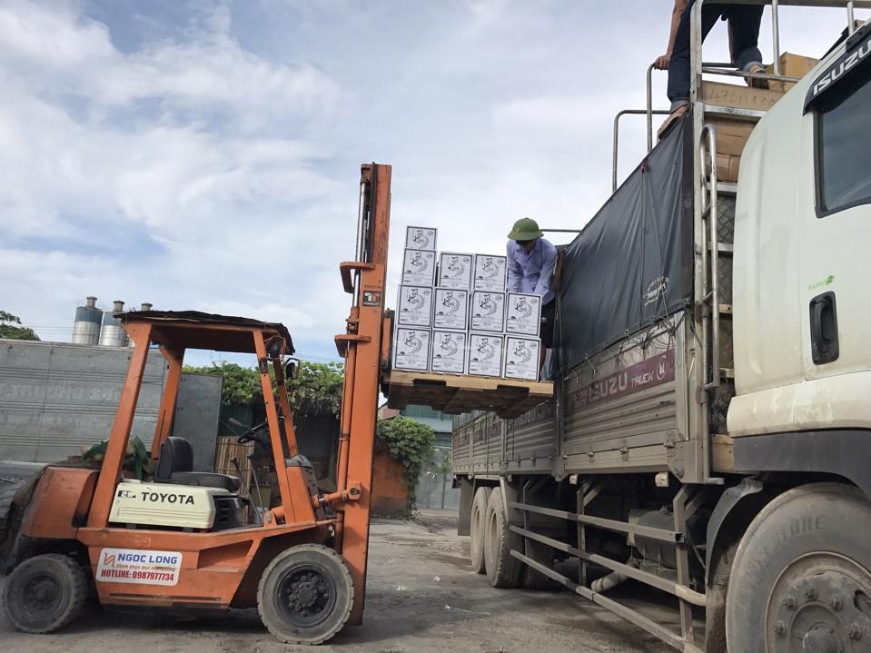 Dịch vụ xe tải chở hàng thuê tại Hà Nội