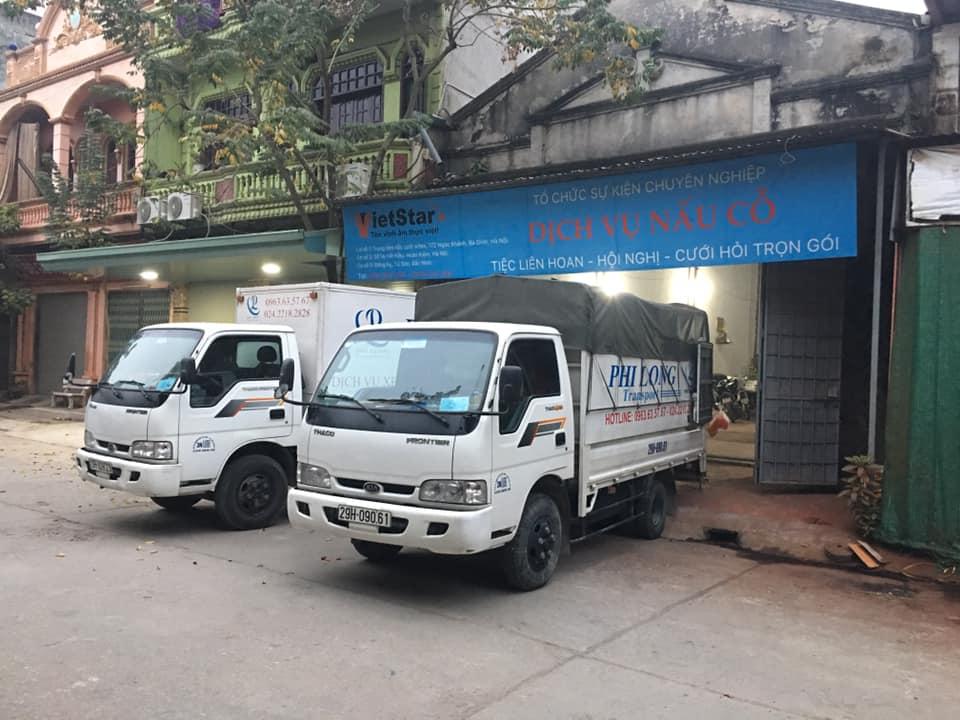 Xe tải nhỏ chuyển nhà giá tốt Hà Nội