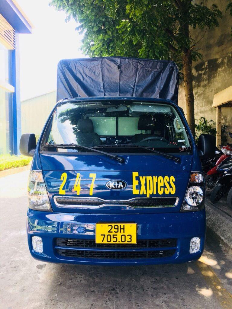 thuê xe tải chở hàng Hà Nội của Công ty Vận tải 247