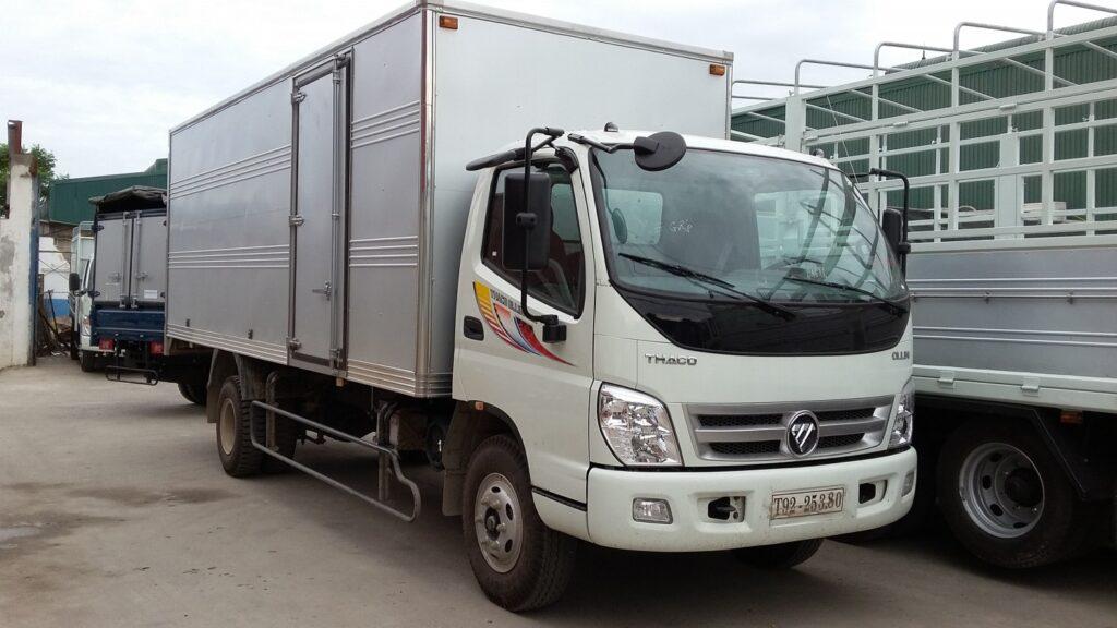 Thuê xe tải vận chuyển hàng hóa trọn gói tại Hà Nội