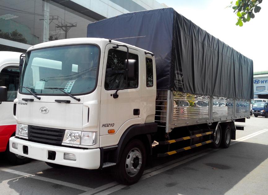 Xe tải chở hàng trong phố, chở hàng Hà Nội đi tỉnh