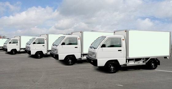 Chuyển văn phòng trọn gói bằng xe tải nhỏ Hà Nội